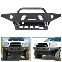 PICK UP ONLY! For 05-15 Toyota Tacoma Steel Front Bumper w/ LED Hole Winch Plate