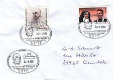 SST 125. Geburtstag Konrad Adenauer Haus d. Geschichte mit MiNr. 1372, 1352