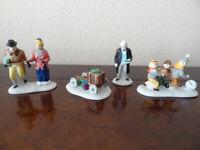 Dept 56 Nicholas Nickelby  Heritage Village Collection Figurines Set of 4