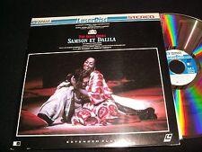 "SAMSON ET DALILA<>2X12"" Laserdisc<>PIONEER CLASSICS PC;THE ROYAL OPERA, PA-82-14"