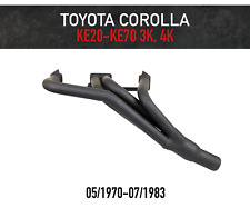 Headers / Extractors for Toyota Corolla 3K & 4K KE20-KE70 (1970-1983)