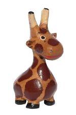 Kleine Giraffe Holz Tier Figur Kinder Spielzeug Afrika KTier20