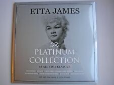 ETTA JAMES The Platinum Collection UK triple white vinyl LP 2017 new sealed