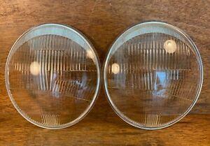 Original Bosch European Headlight Lenses for Porsche 356 911 4487 K11698