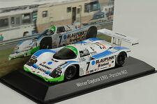 1991 porsche 962 C winner 24h Daytona #7 Blaupunkt wollek 1:43 map musée spark