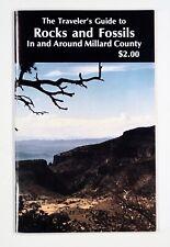 1993 TRAVELER'S GUIDE TO ROCKS & FOSSILS Millard County Utah DELTA trilobites &c