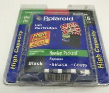 Polaroid Cartucho de tinta 45/15 tinta negra alta capacidad negro HP 51645A C6615
