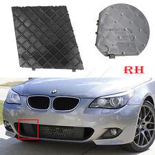 Right For BMW E60 E61 M Sport Black Front Bumper Cover Lower Mesh Grill Trim