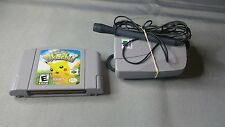 Hey You, Pikachu! N64 Mic and VRU included (Nintendo 64, 2000) Ready to Play N64