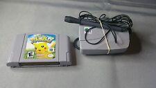 Hey You, Pikachu! N64 Mic and VRU included (Nintendo 64, 2000) ***tested****