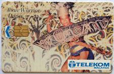 Malaysia Used Phone Card : Iban Warrior Dance
