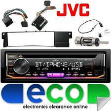 BMW 3 Series E46 JVC Bluetooth CD MP3 USB Aux Ipod Car Radio Stereo Fitting Kit