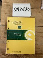 John Deere LX172 176 178 186 Lawn Tractor Owner's Operator Manual OMM111804 NOS