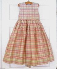 Strasburg Boutique $193 Silk Lined Tulle Pageant Girls Formal Party Dress 6X 7