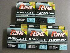 P-line Floroclear 8lb (x3), 10lb & 12lb Fluorocarbon Fishing Line 600 yds Each