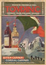 BITTER & CORDIAL CAMPARI, Italy, 1912, 250gsm A3 Poster