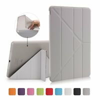 Origami Leather Case For iPad 2 3 4 Mini 4 Air Magnetic W/Sleep Wake Stand Cover