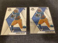 2020 NFL Football Panini Mosaic Joshua Kelley RC #234 Lot of 2 -Rookie -Chargers