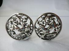 No Bead/Stone Silver Vintage Costume Jewellery (1970s)