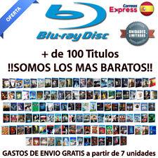 Peliculas Blu-Ray PRECINTADAS. Ediciones Españolas. Mas de 100 Titulos!! BLURAY.