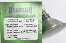 DELTECH 7.5W 3000K WARM WHITE LED PAR38 LAMP