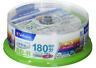 Verbatim Blu-ray Disc 20 Spindle 25 GB 6X Speed BD-R DL Printable VBR130RP20SV1