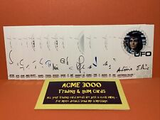 Unstoppable UFO Series 3 WHITE DEALER BOX 19x GOLD FOIL Autograph Cards ONLY