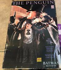 Batman Returns Movie the Penguin Vinyl Model Kit in orig box w/ instructions
