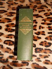Dictionnaire portatif Français-Suédois - Holtze, 1883