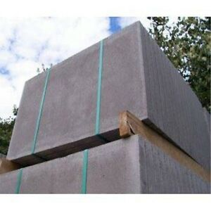 Concrete Council Paving Slabs 900mm x 600mm x 50mm Grey - 25 Slab Deal