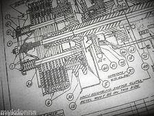 HARLEY DAVIDSON Plans Big Twin Transmission BLUEPRINT