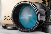 """Near Mint"" Nikon Ai-S 200mm F4 MF Prime Telephoto Lens From Japan #070"