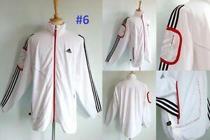 4224NEW Adidas Basketball Track Sweat Shirt Training Basic Jacket Smoke White XL