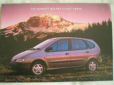 Renault Megane Scenic brochure Apr 1997