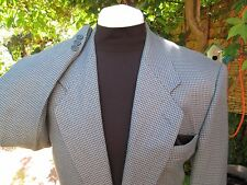 """38""""REG FIT TWEED FROM CANADA DOGTOOTH CHECK BY CLUB INTERNATIONAL COAT JACKET"""