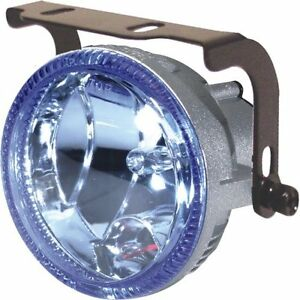 "3.5""  Universal 3 in 1 Driving Light w/ Accent Ring Halo and White Strobe Light"