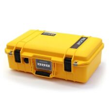 Yellow and Black Pelican 1485 Air case with Foam.