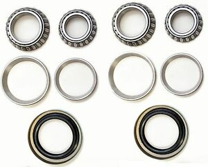Front Wheel Bearing & Seals Kit For 1984-1993 Ford MUSTANG 8Cyl V8
