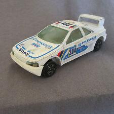 13E Burago 4150 Peugeot 405 T16 # 204 Dakar 1989 blanc 1:43