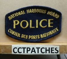 NATIONAL HARBOURS BOARD, CANADA POLICE SHOULDER PATCH
