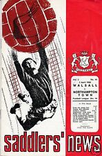 WALSALL V   NORTHAMPTON TOWN 3RD DIVISION  2/4/68