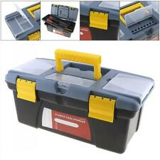 Large Portable Plastic Hardware Tool Storage Box Home Outdoor Finishing Organize