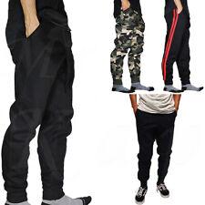 Jogger Pants Men Jogging Slim Fit Fleece Sport Gym Workout Sweatpants Camo Basic