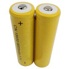 2X 18650 9800mAh Ioni di litio 3.7V Batteria Ricaricabile Per Luce flash Laser