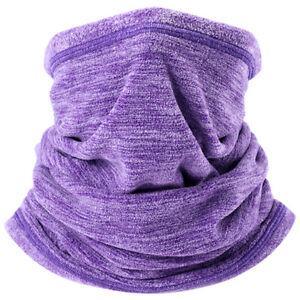 Winter Fleece Neck Warmer Gaiter Ski Face Mask Balaclava Scarf Bandana Headwear