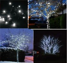 Christmas 30M 180 White LED Outdoor Garden Patio Window String Lights Decoration