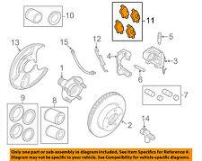 JAGUAR OEM 05-09 XJ8 Brake-Front Pads C2C39929