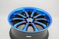 18 blue Wheels Rims Eclipse MDX Caravan Stratus Caliber Fusion CRZ 5x100 5x114.3