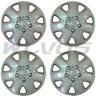 """NEW SET 16"""" Silver Hubcaps Wheelcovers for VW JETTA GOLF RABBIT Steel Wheels"""