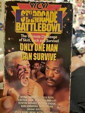 Preowned Wcw Starrcade Battlebowl 92
